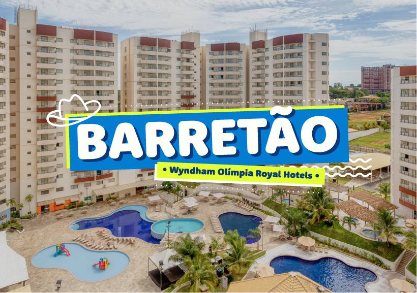 Barretão no Wyndham Olímpia Royal Hotels